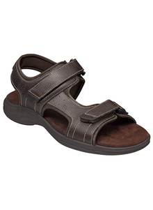Dr. Scholl's&#174 Men's Leather Sandals