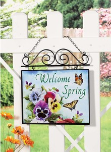 Seasonal Welcome Sign Carolwrightgifts Com