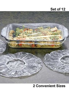 S/12 Casserole & Cake Pan Covers