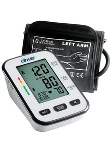 Deluxe Upper-Arm Blood-Pressure Monitor