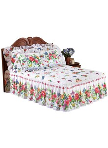 Butterfly Quilt-Top Bedspread