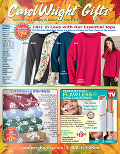 Carol Wright Gifts has a huge selection of the latest