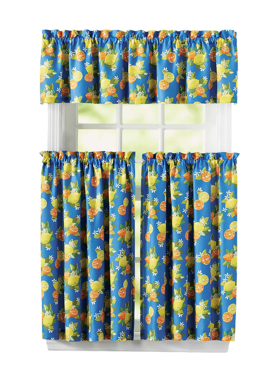 Kitchen Curtain and Valance Set | CarolWrightGifts.com