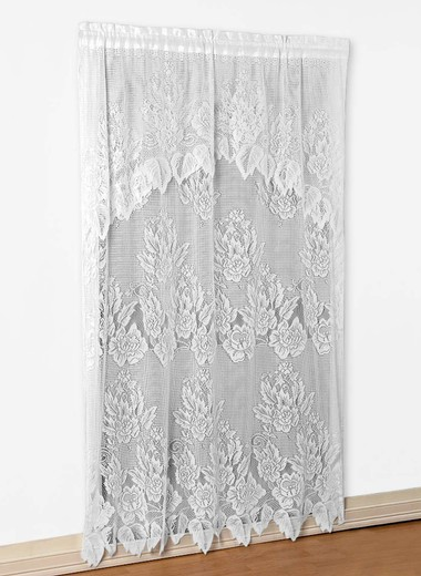 Lace panel with valance carolwrightgifts com