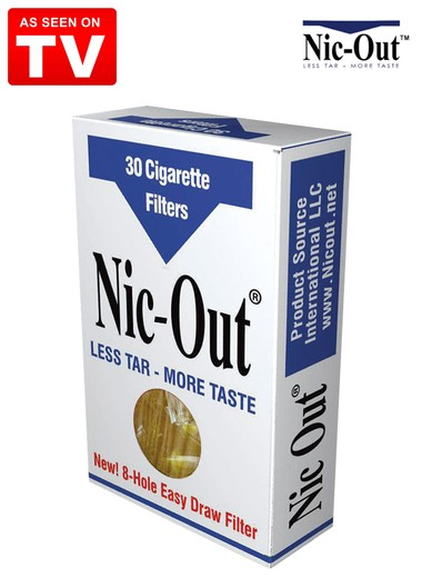 91006b42edca Nic-Out Cigarette Filters