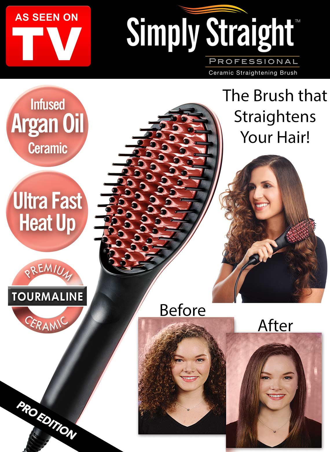 Buy Simply Straight Ceramic Brush 1 Source Carolwrightgifts
