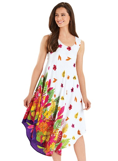 Tropical Border Dress