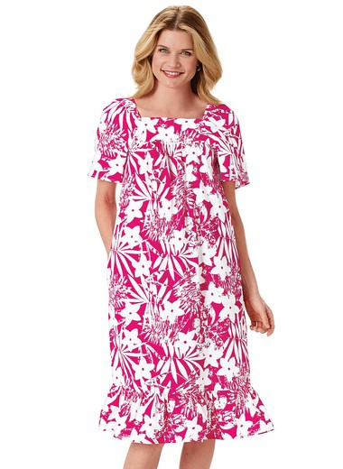 Tropical Monotone Dress