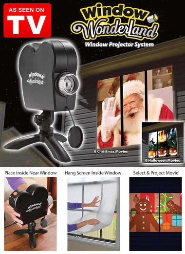 As seen on tv store 1 source for seen on tv products for Window wonderland